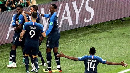 El probable 11 de Francia para enfrentar a Croacia en la final