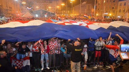"""Peruano en Zagreb: """"Los croatas están viviendo un sueño, aún no pueden creerlo"""""""