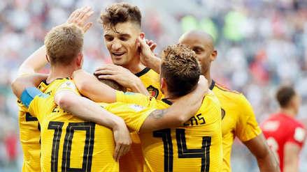 Thomas Meunier y Eden Hazard le dieron el tercer puesto de Rusia 2018 a Bélgica