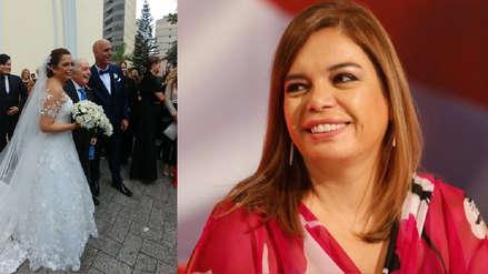 El emotivo gesto que tuvo Milagros Leiva con José María 'Chema' Salcedo en su boda