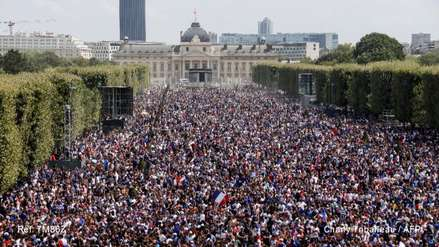 Así viven los hinchas de Croacia la final del Mundial Rusia 2018 en Zagreb