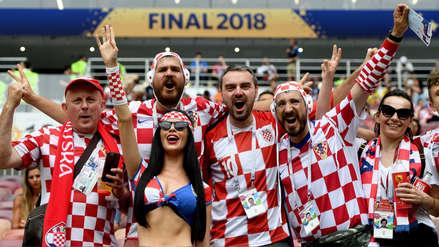 La emoción de miles de hinchas franceses y croatas antes de la final de Rusia 2018