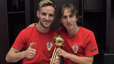 Las emotivas dedicatorias entre Ivan Rakitic y Luka Modric tras la final de Rusia 2018
