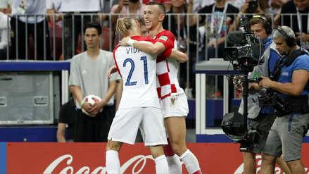 Ivan Perisic marcó el empate de Croacia con este golazo de zurda