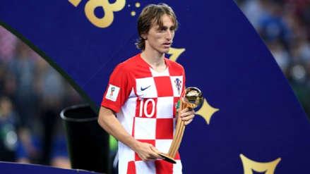 Luka Modric fue escogido el mejor jugador de Rusia 2018
