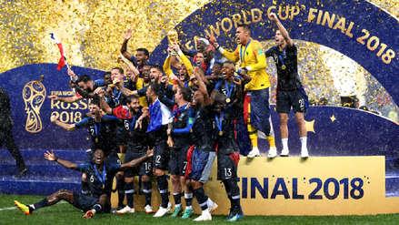 Francia venció a Croacia y se coronó campeón del Mundial Rusia 2018