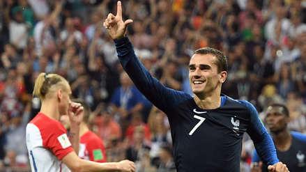 Antoine Griezmann, el mejor jugador de Francia en el Mundial Rusia 2018
