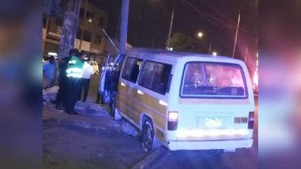 Adolescente herido en accidente de tránsito en Trujillo