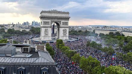 Los Campos Elíseos, emblema de París y de celebraciones multitudinarias