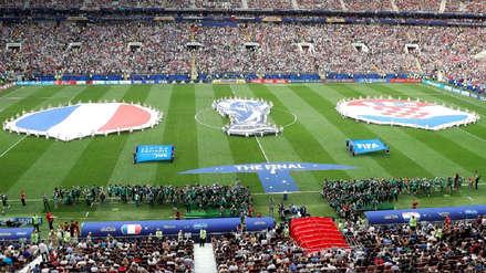 Audio | Así sonaron los himnos de Francia y Croacia en la final de Rusia 2018