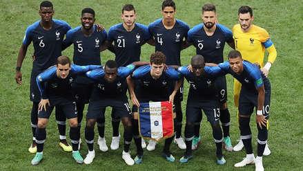 La cábala del uniforme que rompió Francia en la final de la Copa del Mundial
