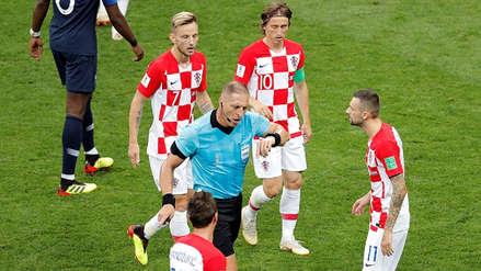VAR determinó que la mano de Iván Perisic fue penal en el Francia vs. Croacia