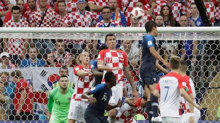 Mira la secuencia del autogol del Mario Mandzukic ante Francia