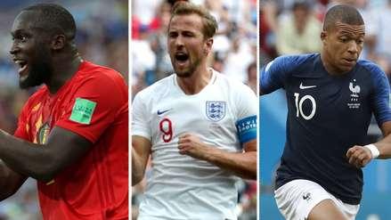 Casi definido: los máximos goleadores del Mundial Rusia 2018