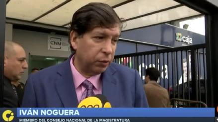 CNM acordó abrir proceso de vacancia al consejero Iván Noguera