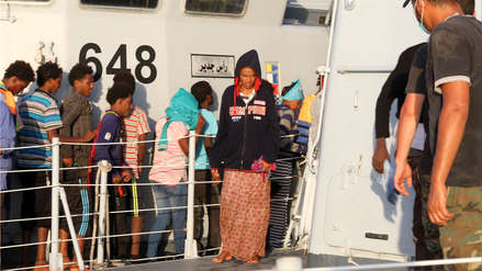 Ocho migrantes murieron asfixiados en un camión frigorífico en Libia