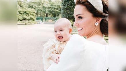Kate Middleton y el príncipe William comparten tiernos retratos familiares del bautizo del príncipe Louis [FOTOS]