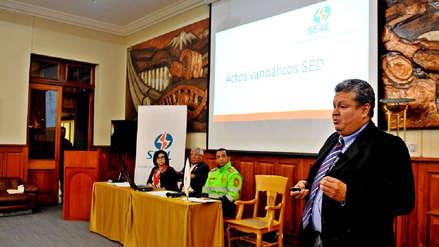Seal denuncia 67 ataques de sabotaje en Arequipa