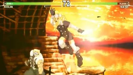 Fans recrean Street Fighter V con estética retro