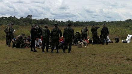 Loreto | Policía y Fuerzas Armadas realizaron operativo antidrogas y capturaron a 51 personas