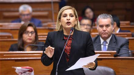 Maritza García anunció la conformación de una nueva bancada tras fallo del TC