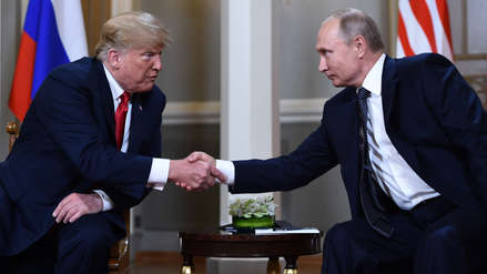 Trump y Putin comienzan con una reunión privada su esperada cumbre bilateral en Finlandia