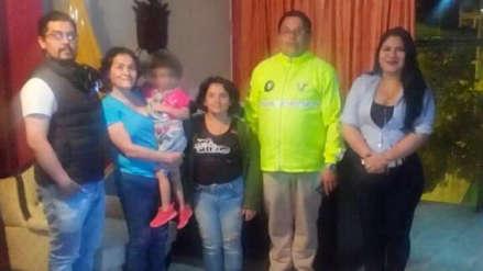 Encuentran en Piura a una madre y su hija que habían desaparecido en Ecuador