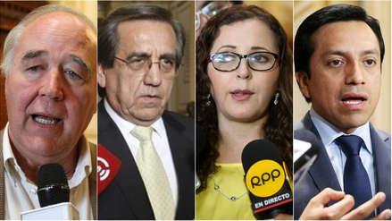 Reacciones en el Congreso por audios que involucran a Mulder y a Becerril