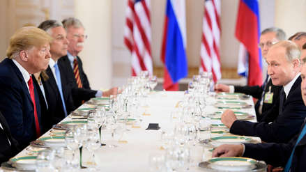 La histórica cumbre entre Donald Trump y Vladímir Putin en imágenes