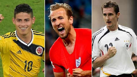 Harry Kane y los 5 últimos ganadores de la Bota de Oro en los Mundiales