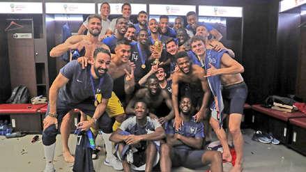 Revelan detalles de la desatada celebración de Francia tras ganarle a Argentina