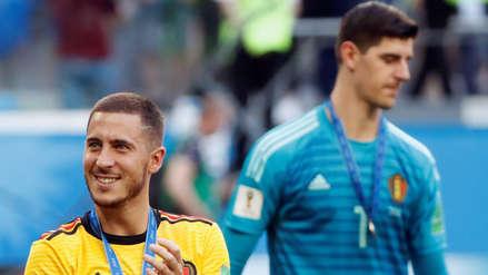 Hazard y Courtois llegarían al Real Madrid, según medio francés