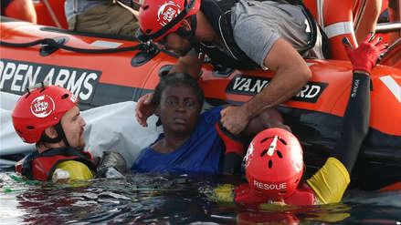 Náufraga que se aferró a dos cadáveres para sobrevivir fue rescatada en el Mediterráneo
