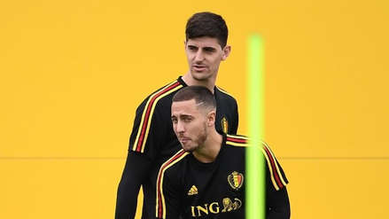 Courtois y Hazard son los jugadores más destacados de Rusia 2018 para L'Équipe