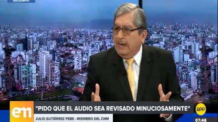 """Julio Gutiérrez Pebe anunció su renuncia al CNM: """"He dicho, pero no he hecho absolutamente nada malo"""""""