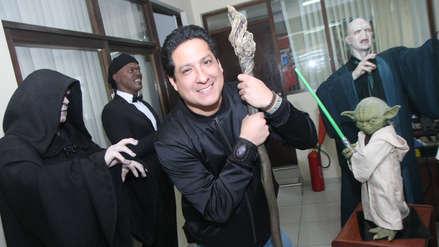Walt Wizard, el artista peruano que vive con Sylvester Stallone, Sarah Jessica Parker y Yoda