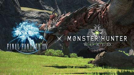 Final Fantasy XIV confirma fecha de colaboración con Monster Hunter World con nuevo tráiler