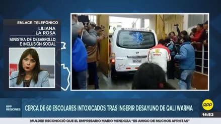 Qali Warma confiscó lote de alimentos que intoxicó a decenas de niños en Cañete
