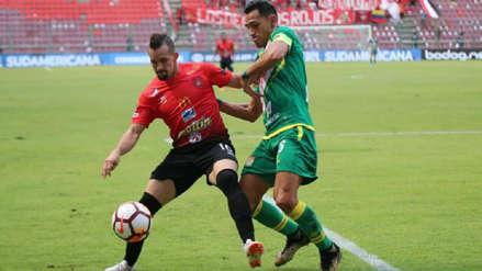 Sport Huancayo cayó 2-0 en el duelo de ida ante Caracas en Venezuela