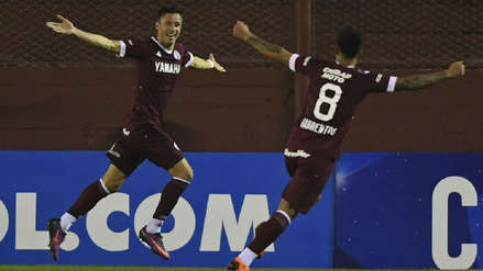 Lanús venció por la mínima diferencia a Junior de Barranquilla