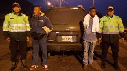 Incautan 63 paquetes de droga en la carretera Panamericana Sur