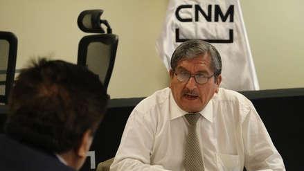 CNM: Julio Gutiérrez Pebe hizo su descargo sobre audio con César Hinostroza