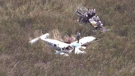 Identifican a peruano como cuarta víctima de accidente de avionetas en Miami