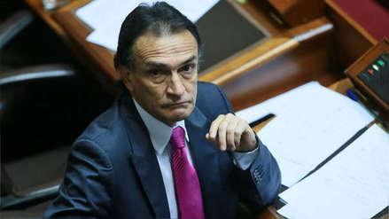 Miembro del CNM: El congresista Becerril me pidió votar por Julio Gutiérrez Pebe