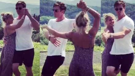 Chris Hemsworth se luce bailando