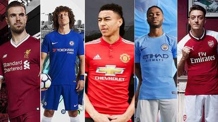 Premier League: las camisetas de los 5 grandes para la temporada 2018-19