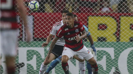Con Paolo Guerrero como titular, Flamengo cayó 1-0 a manos de Sao Paulo