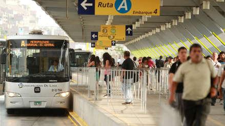 Cuatro estaciones del Metropolitano cierran por marcha contra la corrupción