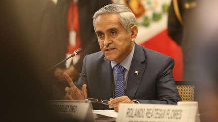 Duberlí Rodríguez presentó su renuncia irrevocable a la presidencia del Poder Judicial