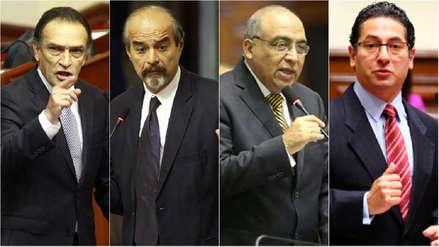 Comisión de Ética aprobó indagación preliminar contra Becerril, Mulder, Heresi y Villavicencio